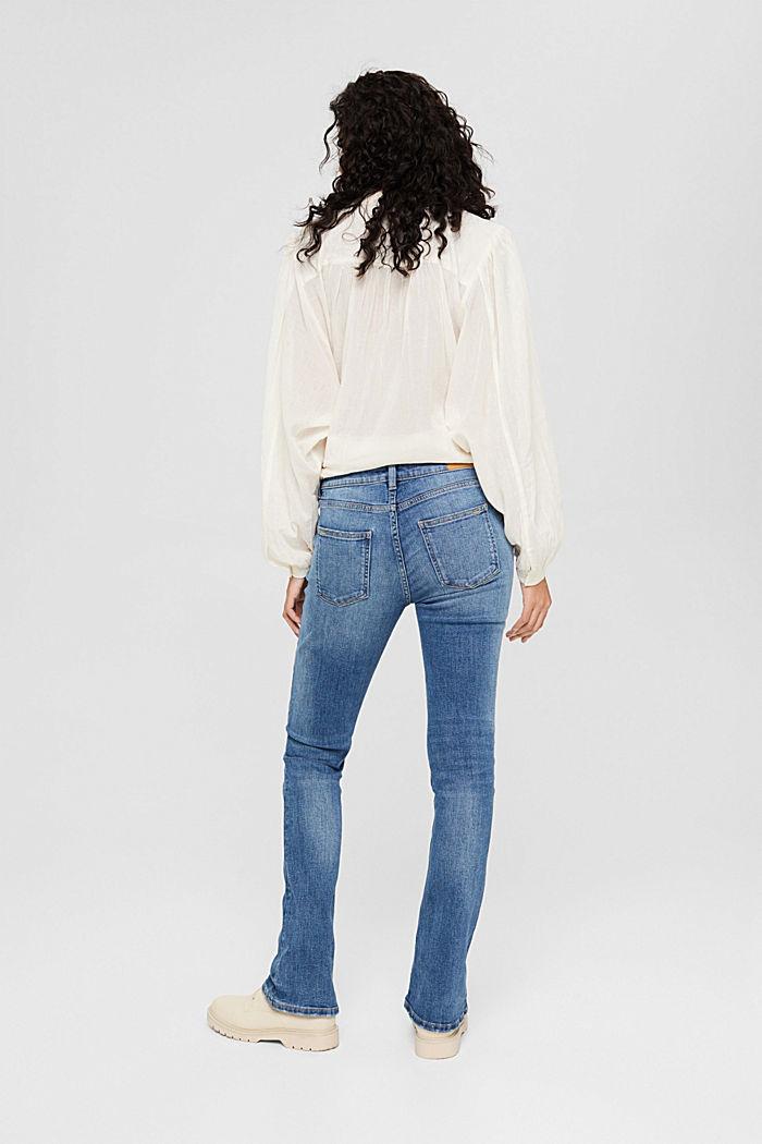 Washed Bootcut-Jeans mit Bio-Baumwolle, BLUE MEDIUM WASHED, detail image number 3