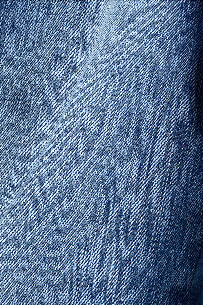 Washed Bootcut-Jeans mit Bio-Baumwolle, BLUE MEDIUM WASHED, detail image number 4