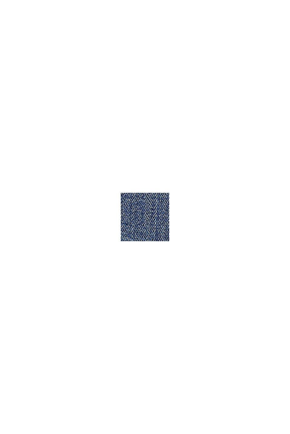 Jean stretch en coton bio, BLUE MEDIUM WASHED, swatch