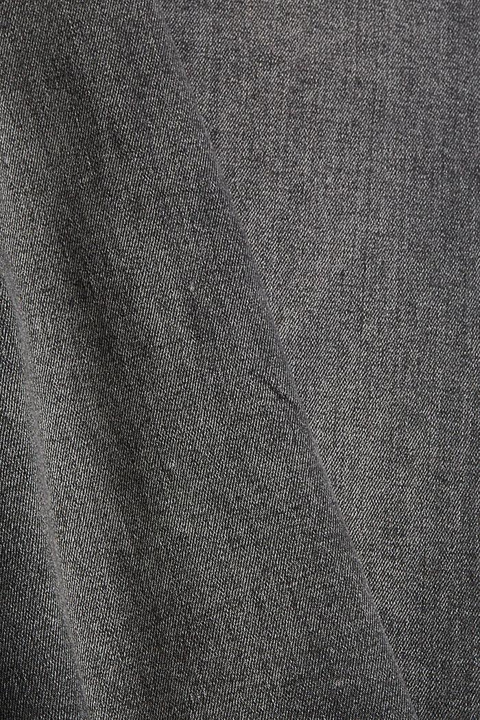 Skirts denim Straight Fit High Rise, BLACK MEDIUM WASHED, detail image number 4