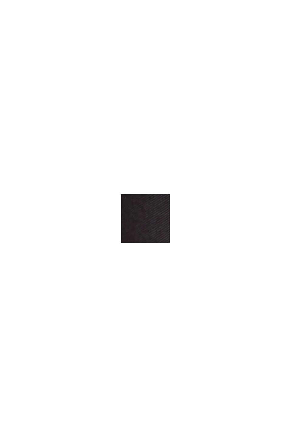Jupe longueur midi d'aspect portefeuille, LENZING™ ECOVERO™, BLACK, swatch