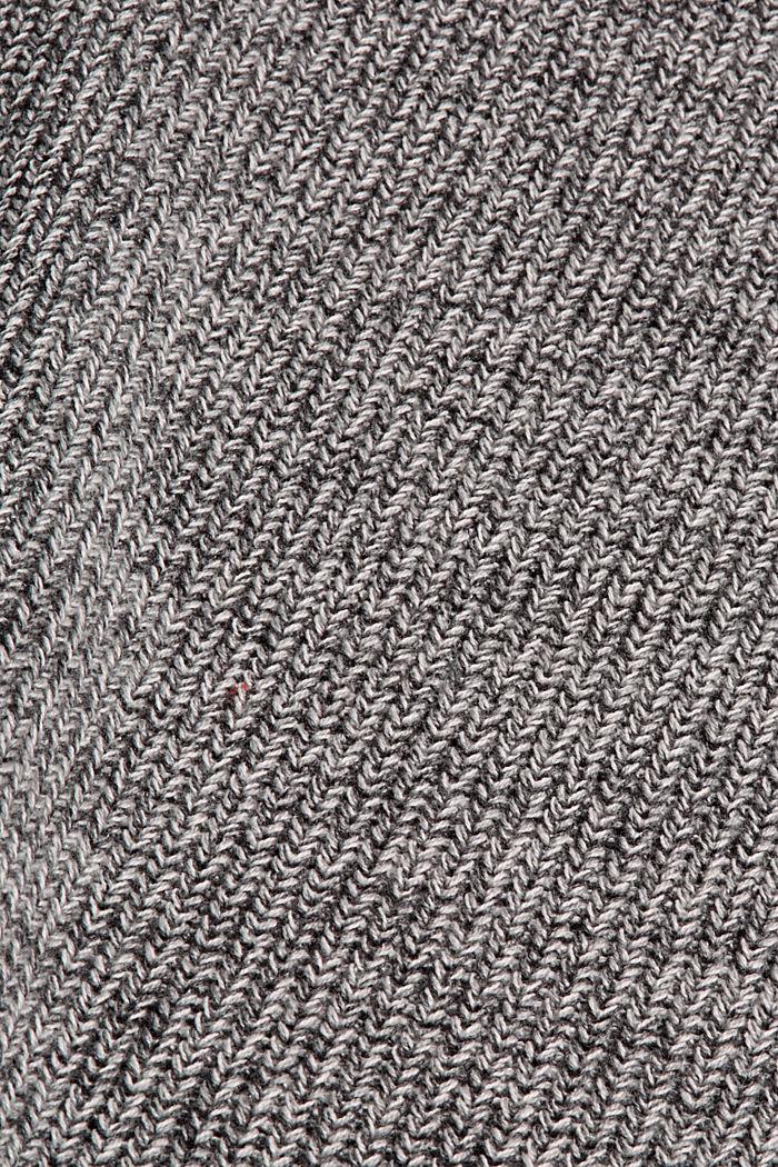 Robe en maille 100% coton, MEDIUM GREY, detail image number 4