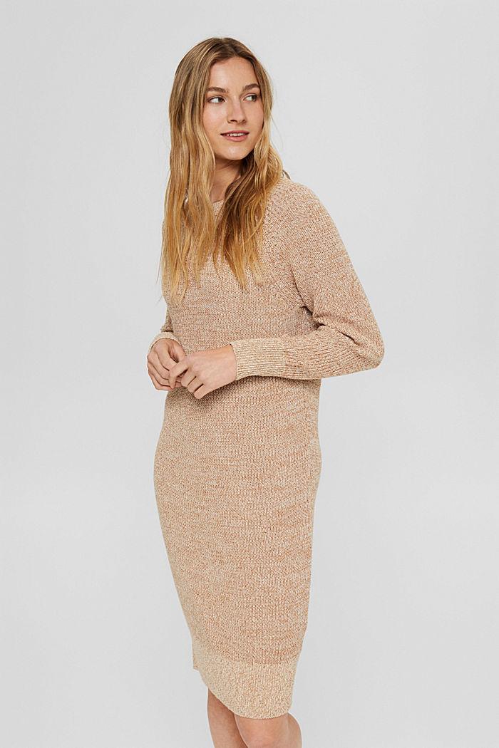 Strickkleid aus 100% Baumwolle
