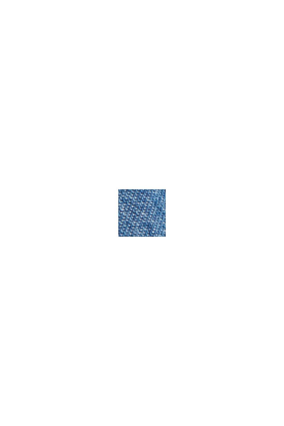 Jeans-Blusenkleid aus Baumwolle, BLUE MEDIUM WASHED, swatch