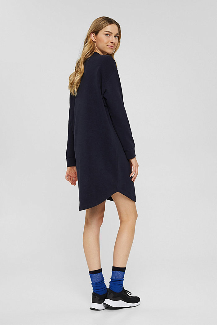 Dresses knitted Oversized drop sh tee , NAVY, detail image number 2
