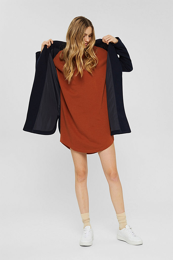 Dresses knitted Oversized drop sh tee , RUST ORANGE, detail image number 5