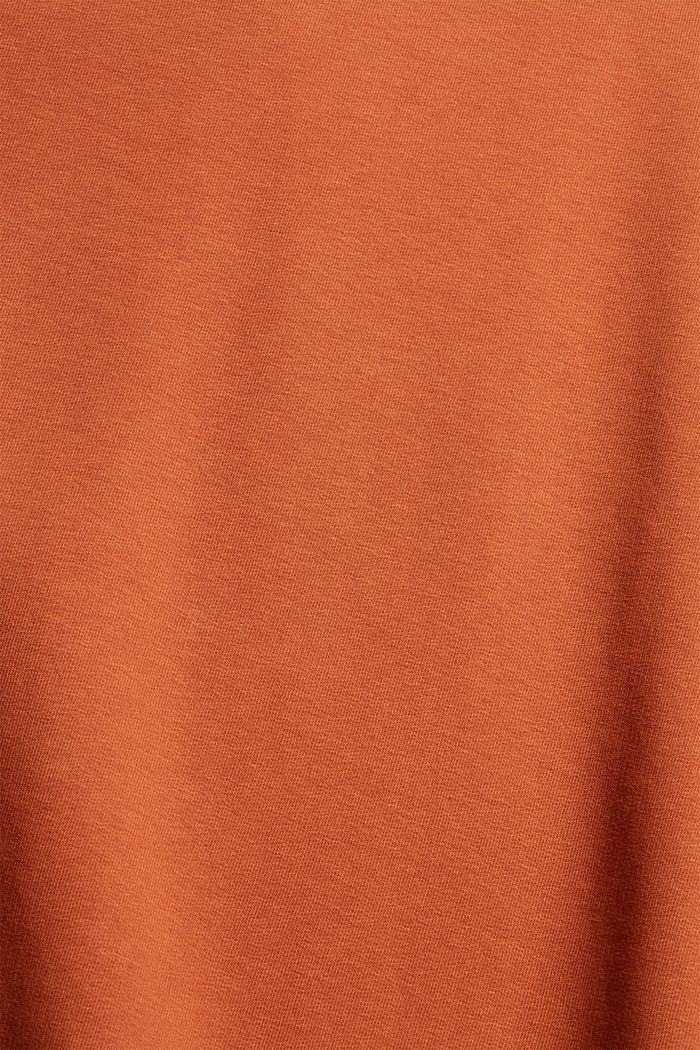 Dresses knitted Oversized drop sh tee , RUST ORANGE, detail image number 4