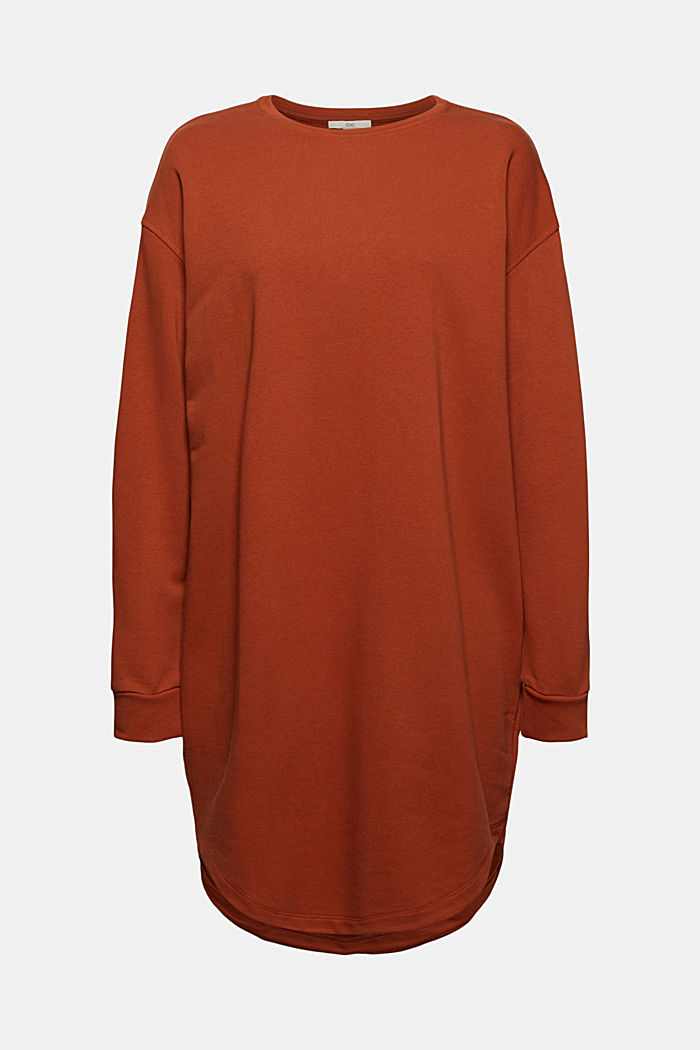 Dresses knitted Oversized drop sh tee , RUST ORANGE, detail image number 6