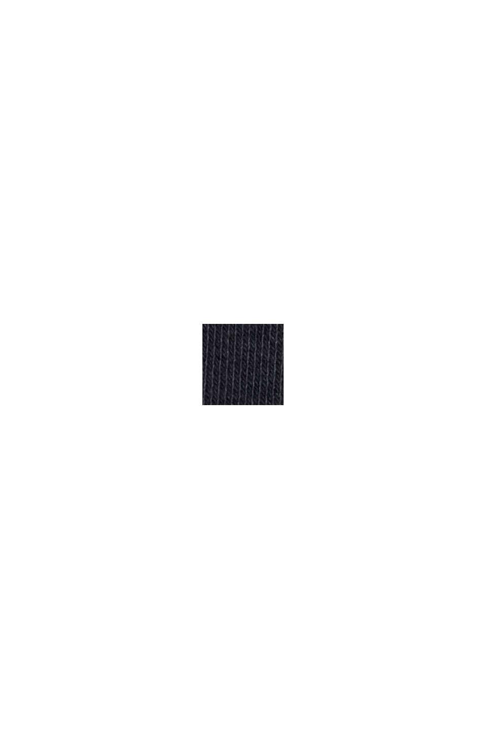 Sweathoodie-Kleid aus Bio-Baumwoll-Mix, BLACK, swatch