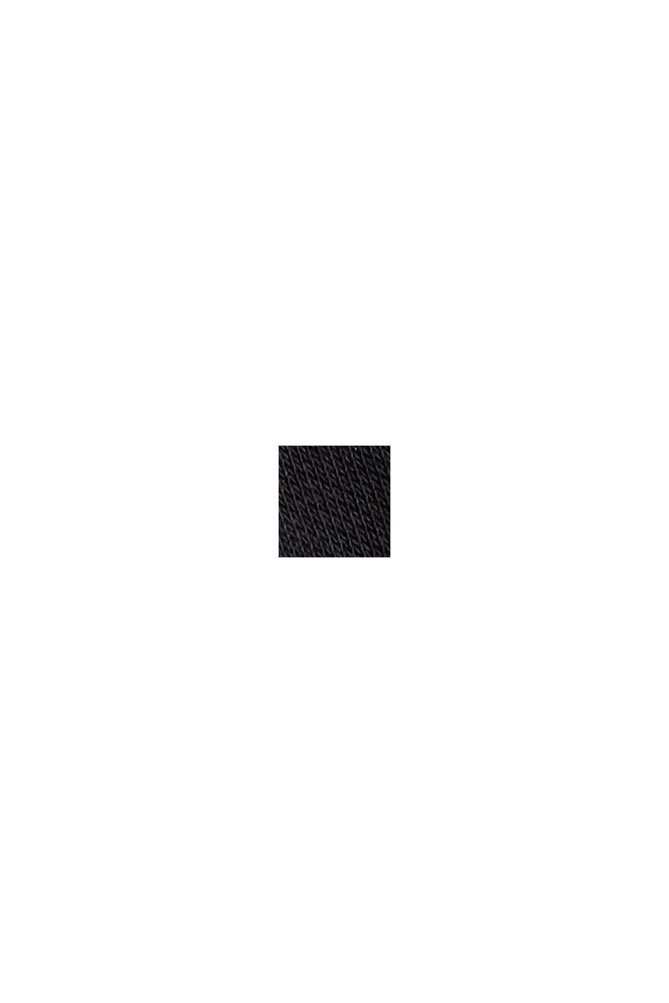 Mini-Sweatshirt-Kleid mit floralem Jersey, BLACK, swatch