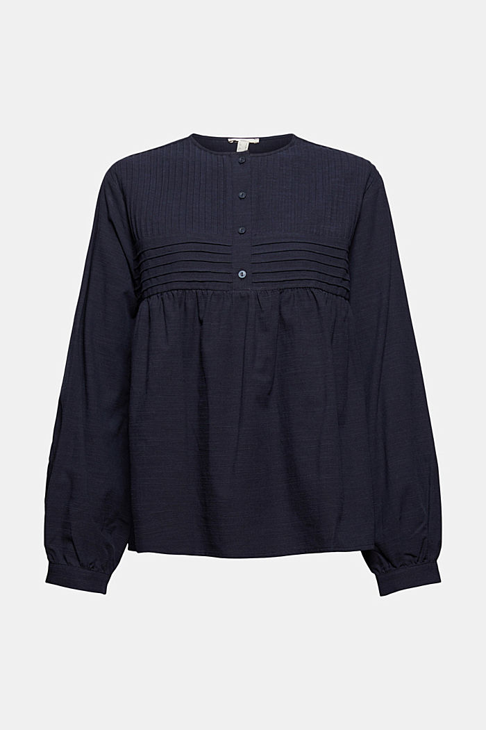 Blouses woven, NAVY, detail image number 8