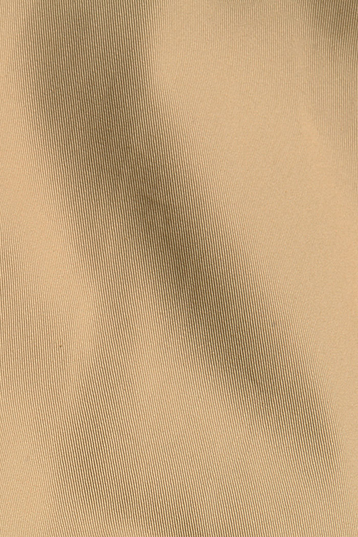 Trenchcoat mit neuem Look, 100% Baumwolle, BEIGE, detail image number 4