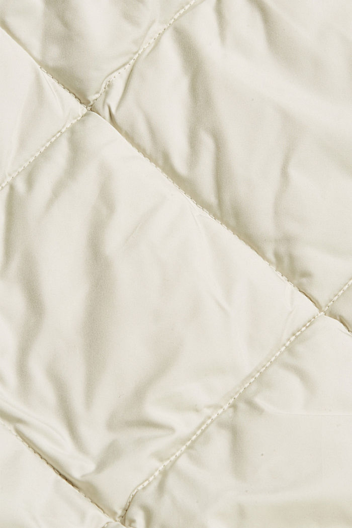 Recycled: quilted coat with 3M™ Thinsulate™, OFF WHITE, detail image number 4