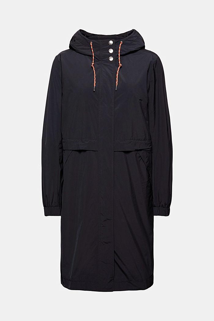 Manteau léger à empiècement amovible en polaire