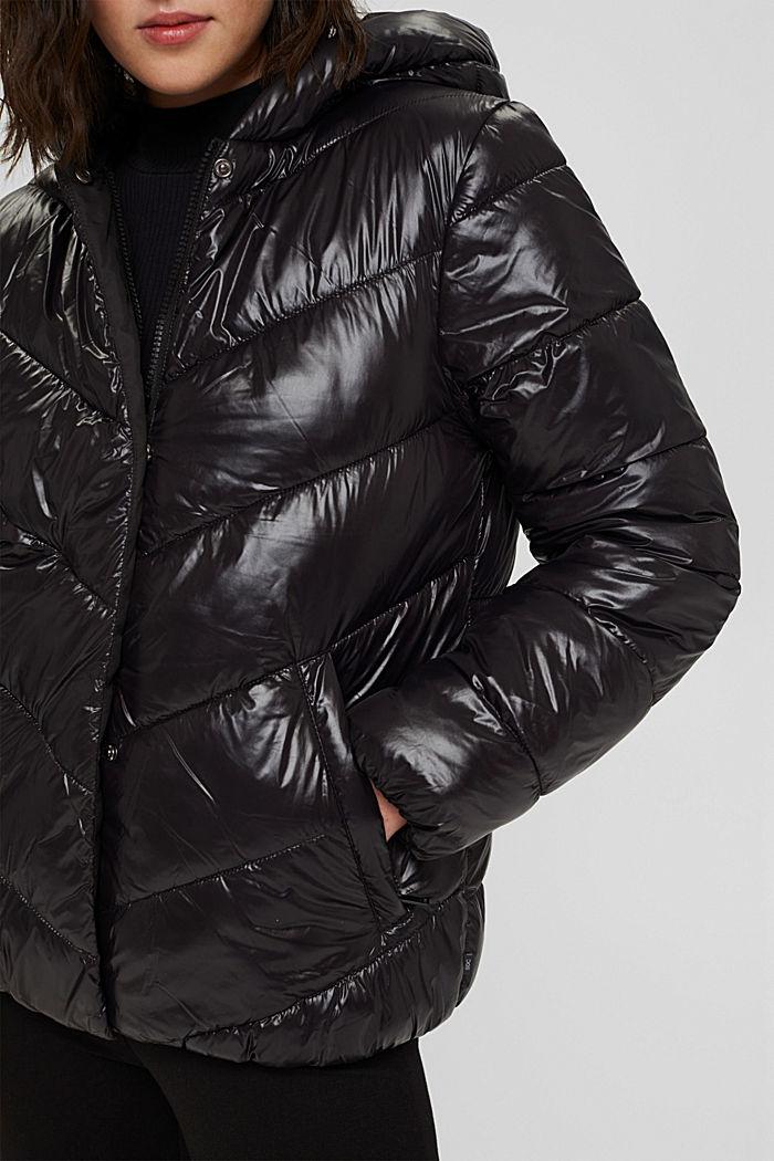 Recycelt: Wendejacke mit 3M™ Thinsulate, BLACK, detail image number 2