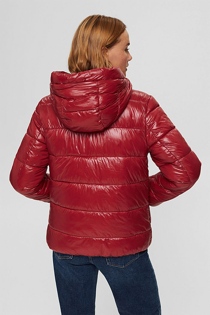 Recycled: reversible jacket with 3M™ Thinsulate, DARK RED, detail image number 3