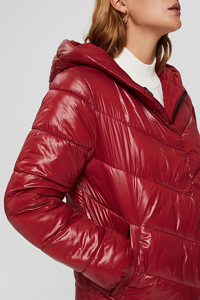 Recycled: reversible jacket with 3M™ Thinsulate, DARK RED, detail image number 2