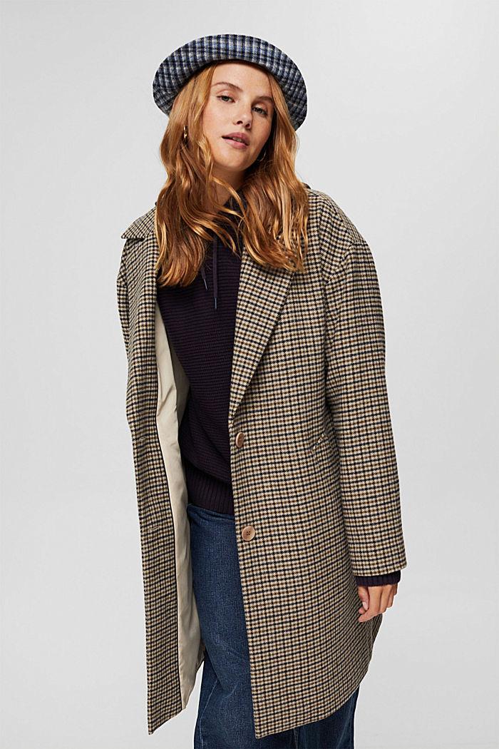 Pullover mit Kapuze, 100% Baumwolle, NAVY, detail image number 5