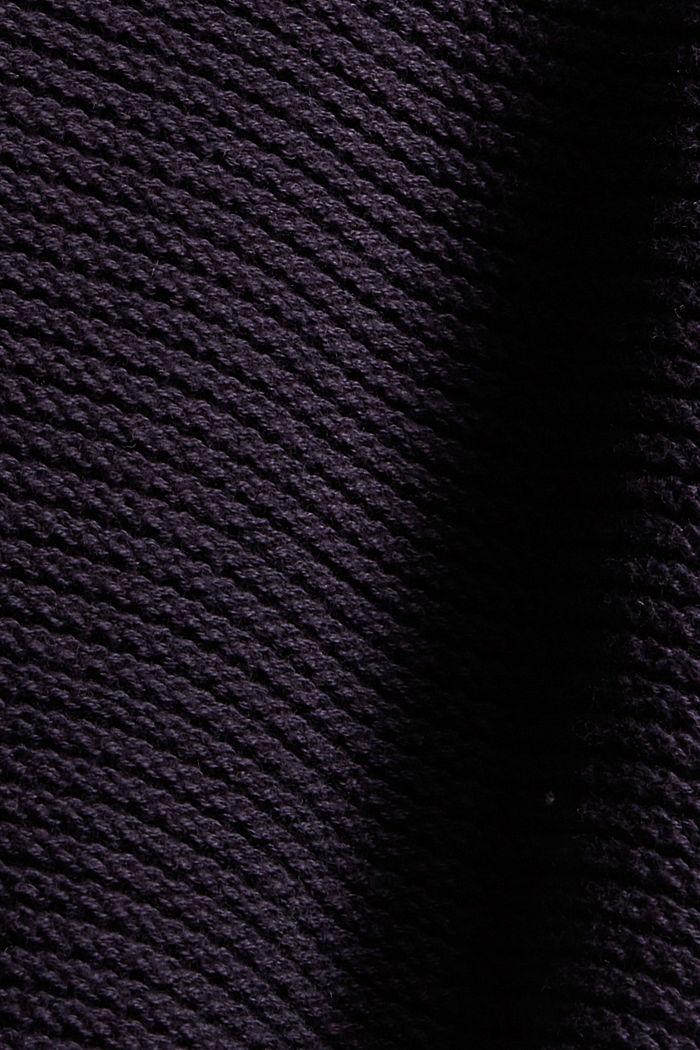 Pullover mit Kapuze, 100% Baumwolle, NAVY, detail image number 4