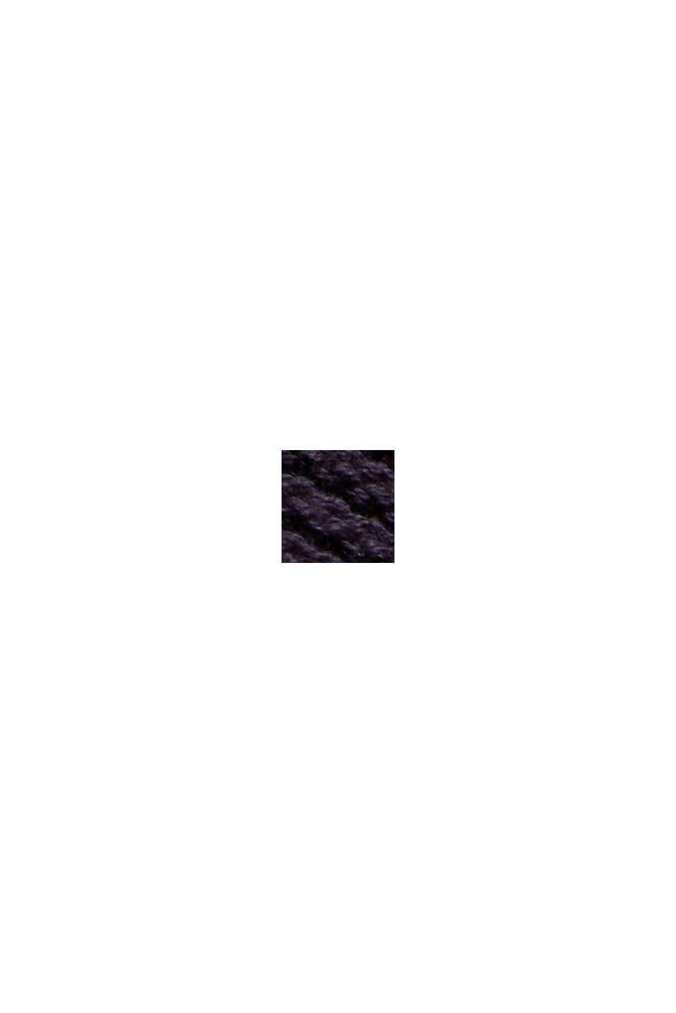 Pullover mit Kapuze, 100% Baumwolle, NAVY, swatch