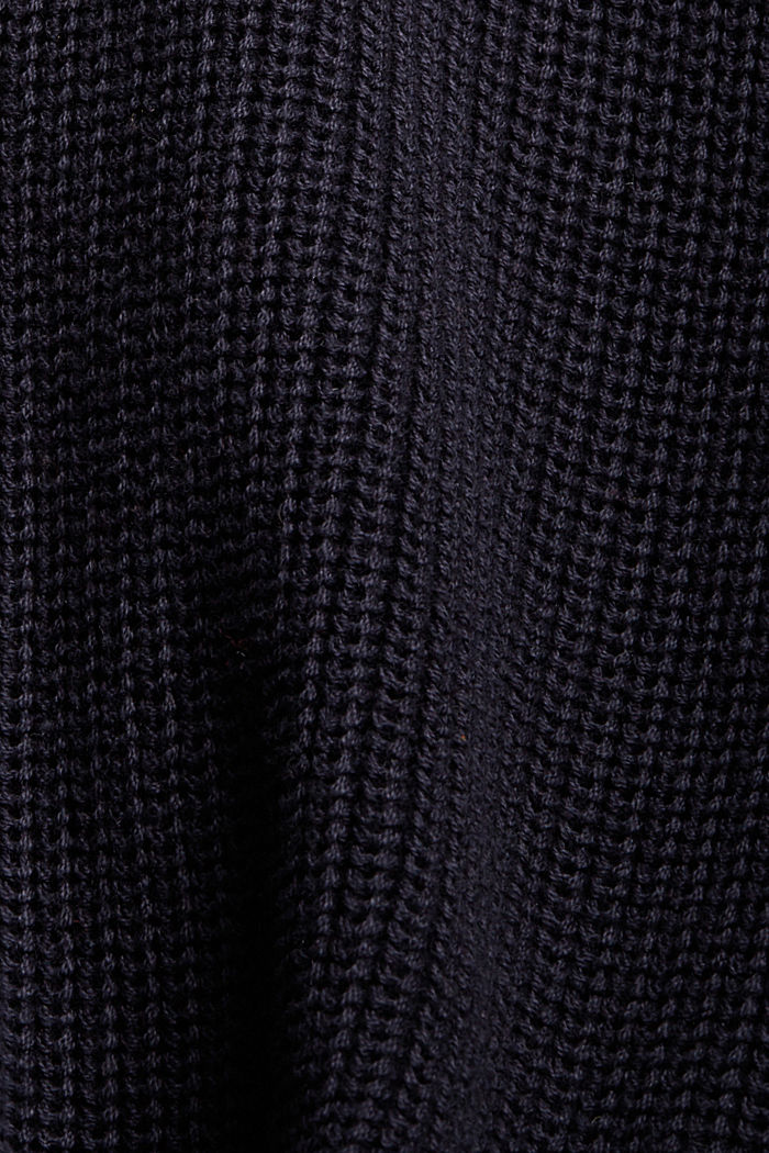 Cárdigan corto en 100% algodón ecológico, NAVY, detail image number 4