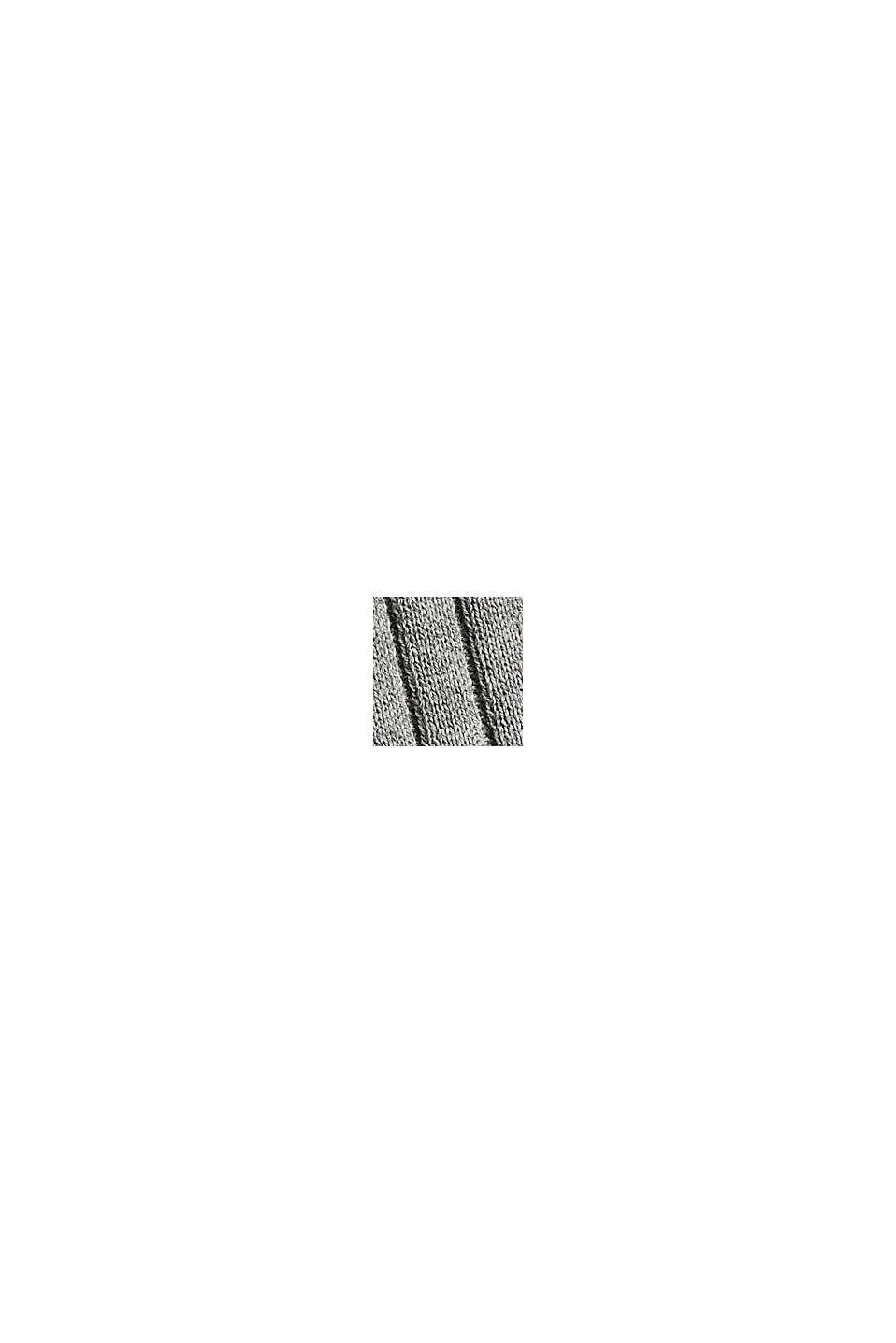 Débardeur côtelé en 100% coton, MEDIUM GREY, swatch