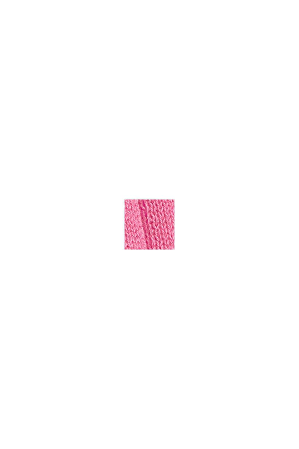 Débardeur côtelé en 100% coton, PINK, swatch