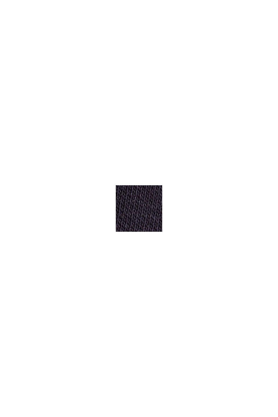 Sudadera con capucha confeccionada en una mezcla de algodón ecológico, NAVY, swatch
