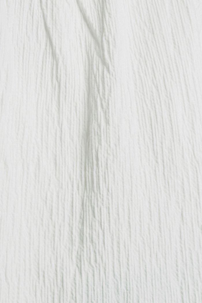 Shirt mit Stickerei und Flügelärmeln, OFF WHITE, detail image number 4