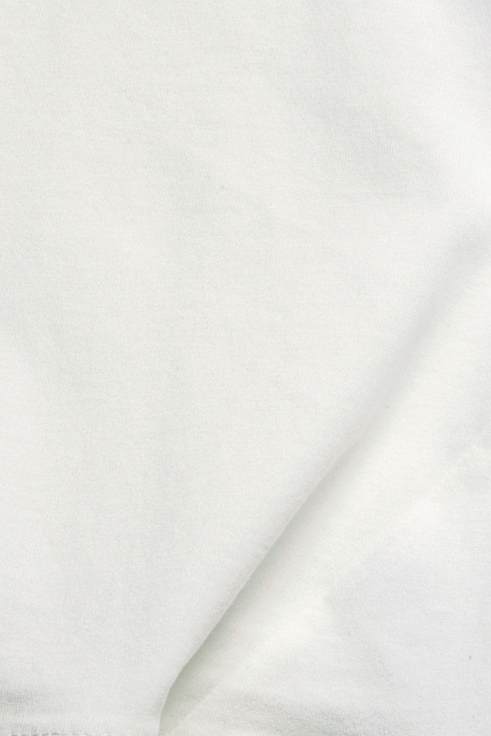 Soft long sleeve top made of 100% organic cotton, OFF WHITE, detail image number 4