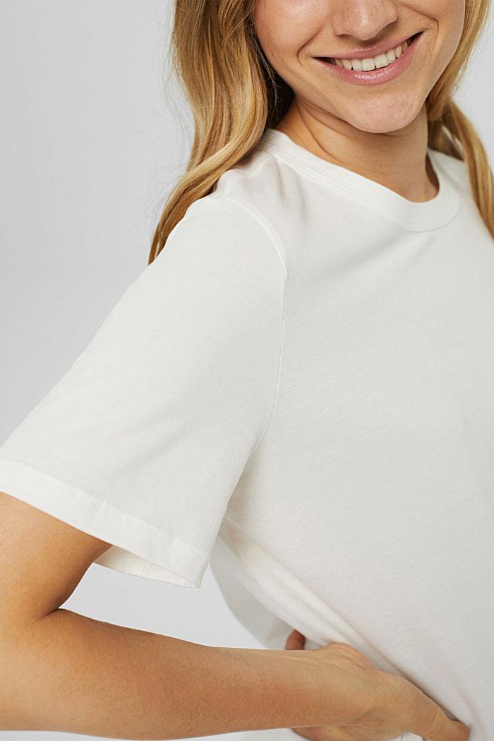 Weiches T-Shirt aus 100% Bio-Baumwolle, OFF WHITE, detail image number 2