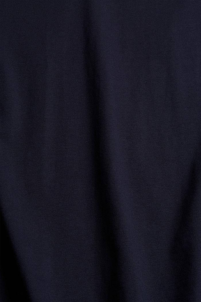 Weiches T-Shirt aus 100% Bio-Baumwolle, NAVY, detail image number 4