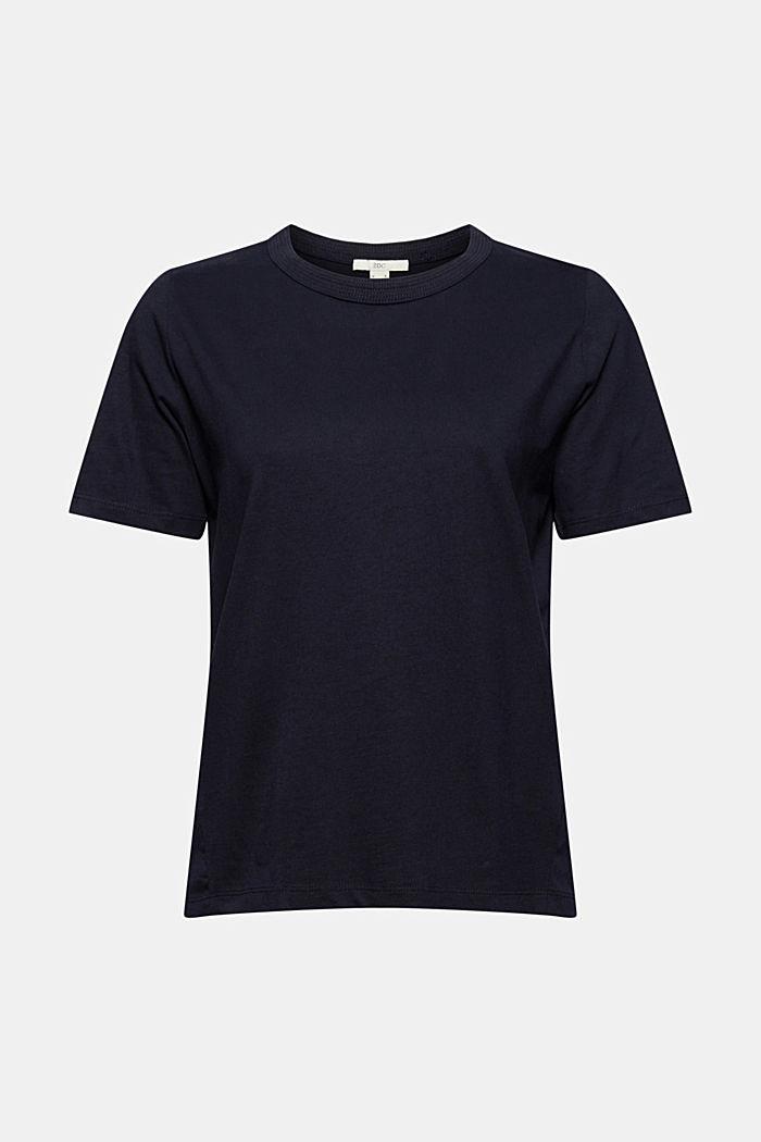 Weiches T-Shirt aus 100% Bio-Baumwolle, NAVY, detail image number 6