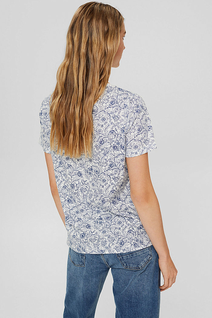 T-Shirt aus 100% Organic Cotton, OFF WHITE, detail image number 3