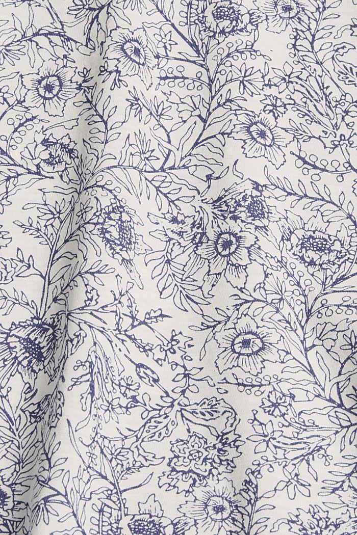 T-Shirt aus 100% Organic Cotton, OFF WHITE, detail image number 4