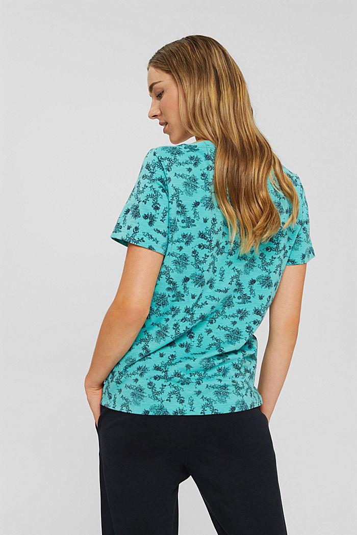 T-shirt 100 % coton biologique, AQUA GREEN, detail image number 3