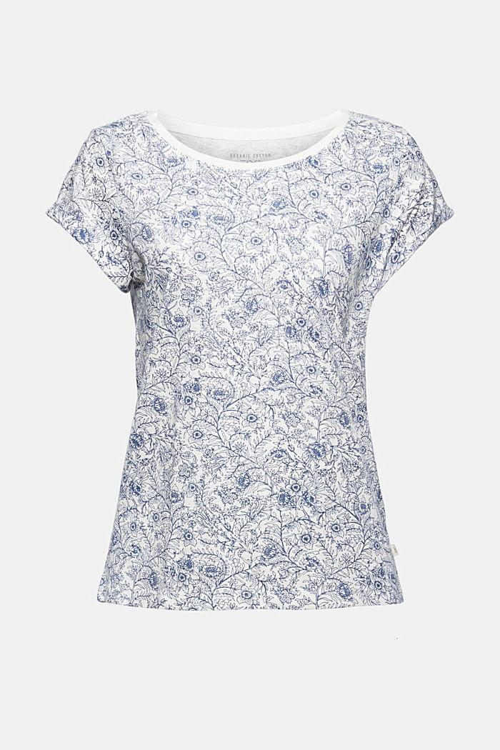 T-shirt con stampa, 100% cotone biologico