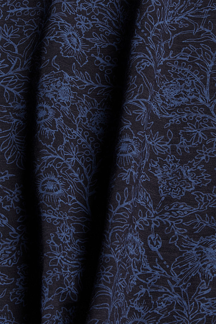 T-Shirt mit Print aus 100% Organic Cotton, NAVY, detail image number 4