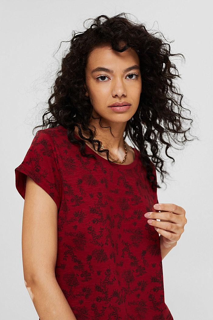 Camiseta con estampado, 100 % algodón ecológico
