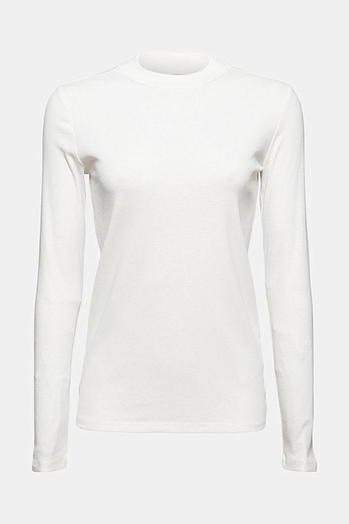 Camiseta de manga larga en 100% algodón ecológico