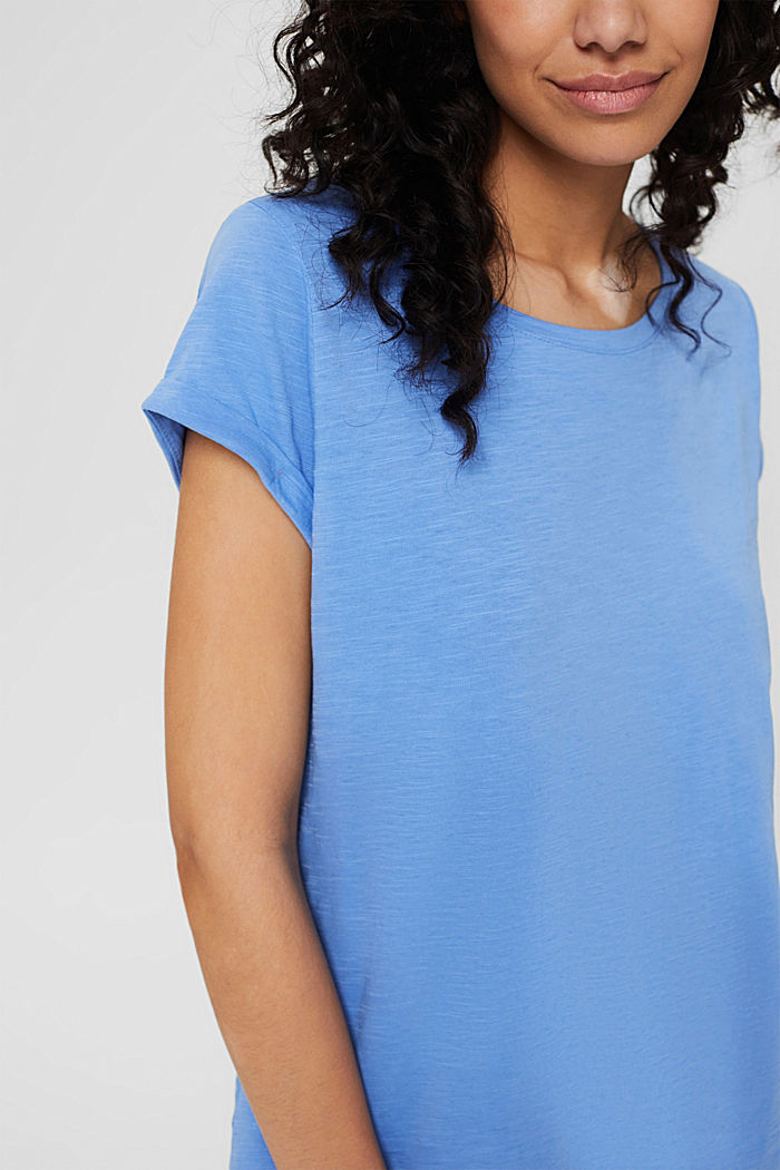 T-shirt made of 100% organic cotton, BRIGHT BLUE, detail image number 2