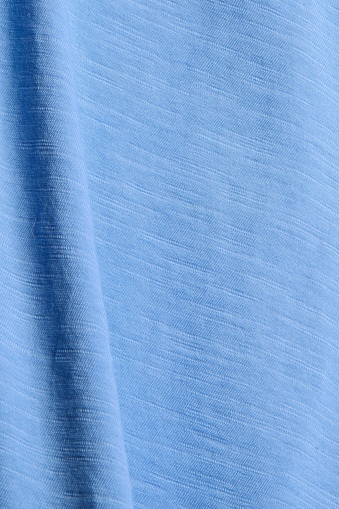 T-shirt made of 100% organic cotton, BRIGHT BLUE, detail image number 4