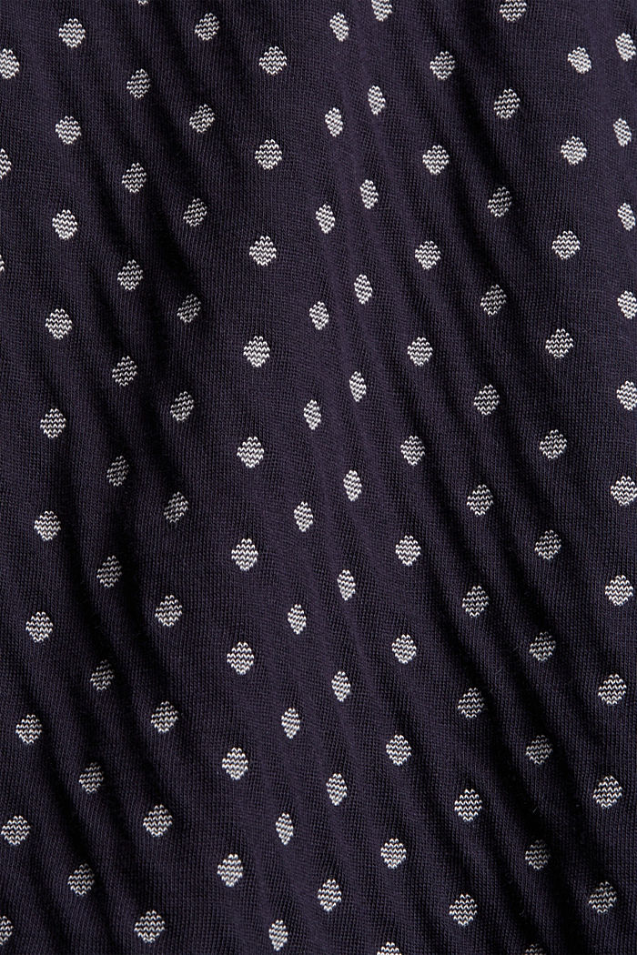 Doubleface-Longsleeve aus 100% Organic Cotton, NAVY, detail image number 4