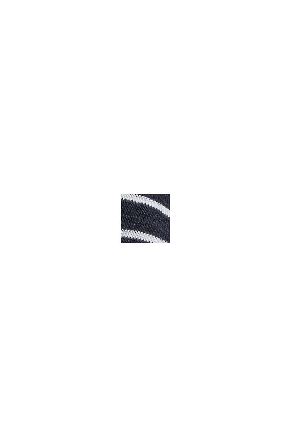 Streifen-T-Shirt aus 100% Bio-Baumwolle, NAVY, swatch