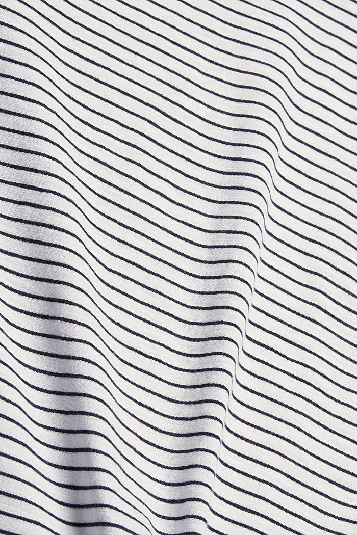 Streifen-Longsleeve aus 100% Bio-Baumwolle, WHITE, detail image number 4