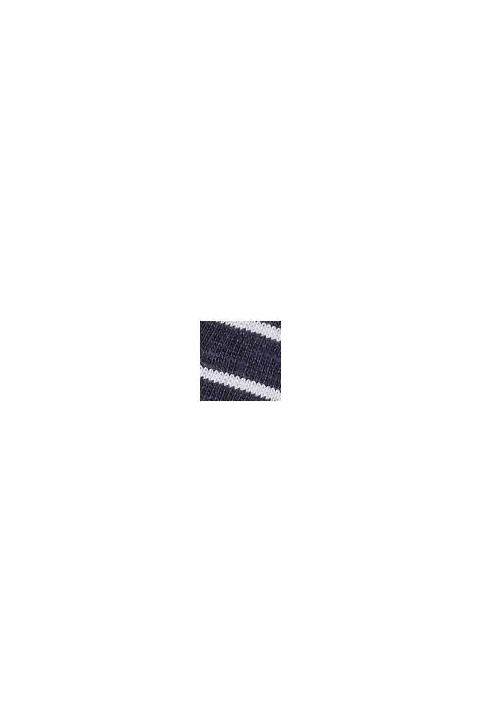 Streifen-Longsleeve aus 100% Bio-Baumwolle, NAVY, swatch