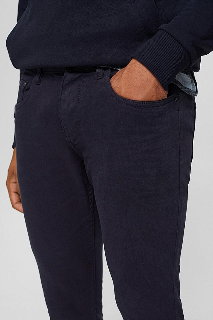 Pantalon bi-stretch confortable, DARK BLUE, detail image number 2
