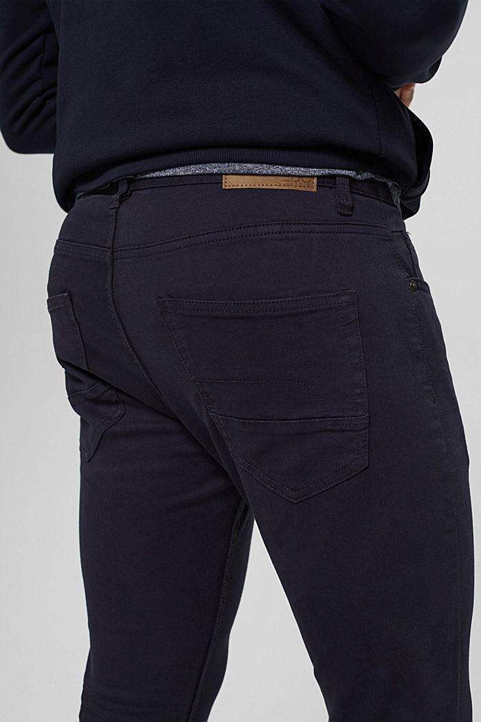 Pantalon bi-stretch confortable, DARK BLUE, detail image number 5