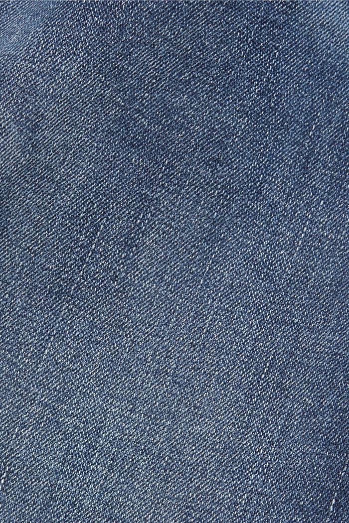 Jean stretch étroit au look délavé, BLUE MEDIUM WASHED, detail image number 4