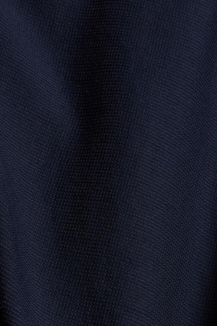 Struktur-Hemd aus 100% Baumwolle, NAVY, detail image number 4